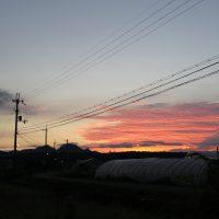 20160825朝焼け