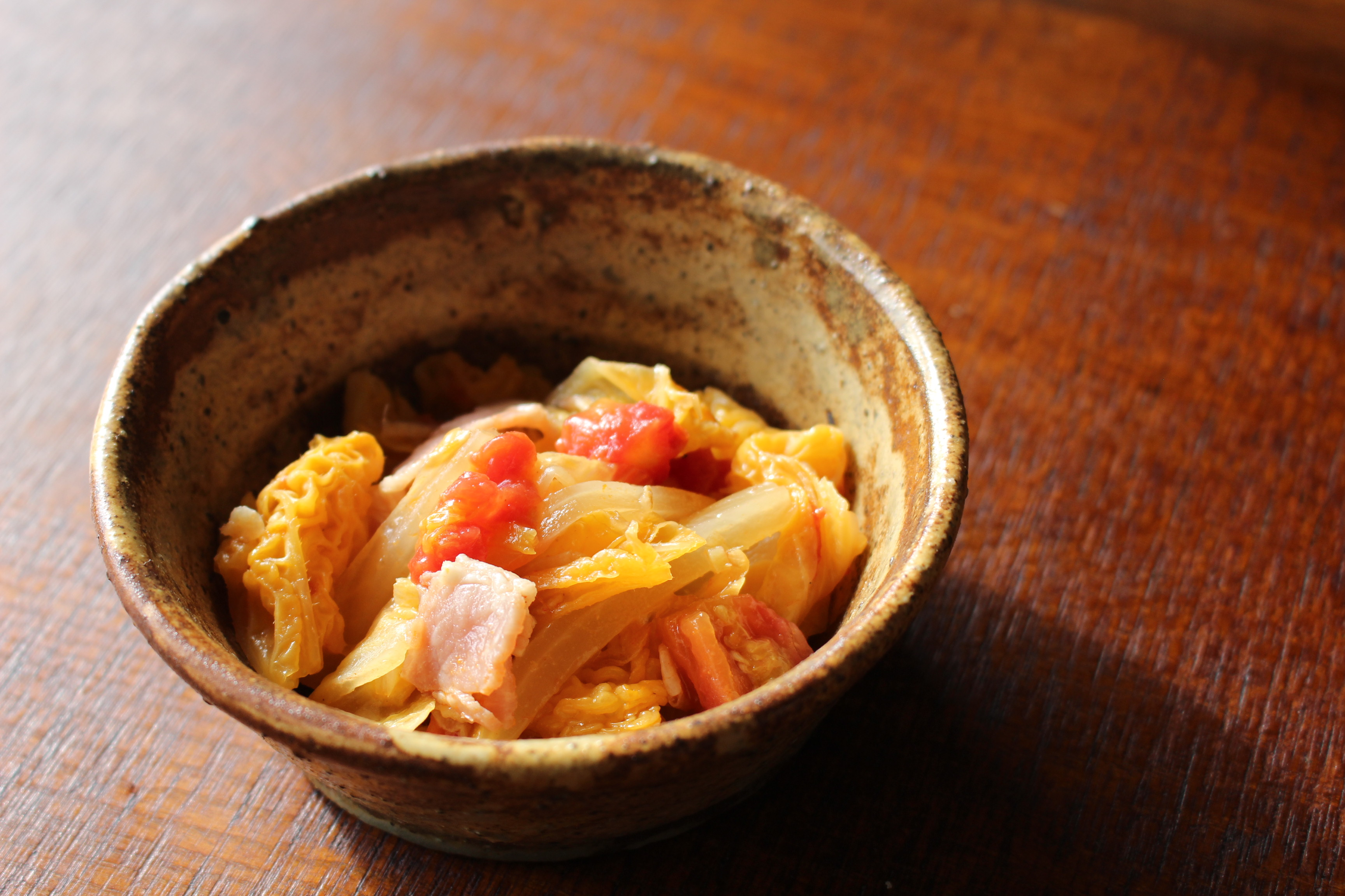 白菜のトマト煮