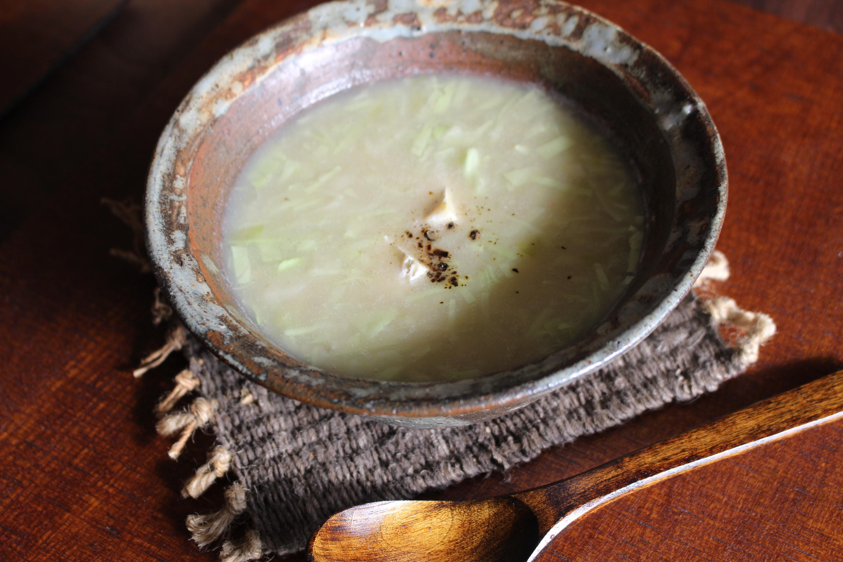 キャベツポタージュスープ