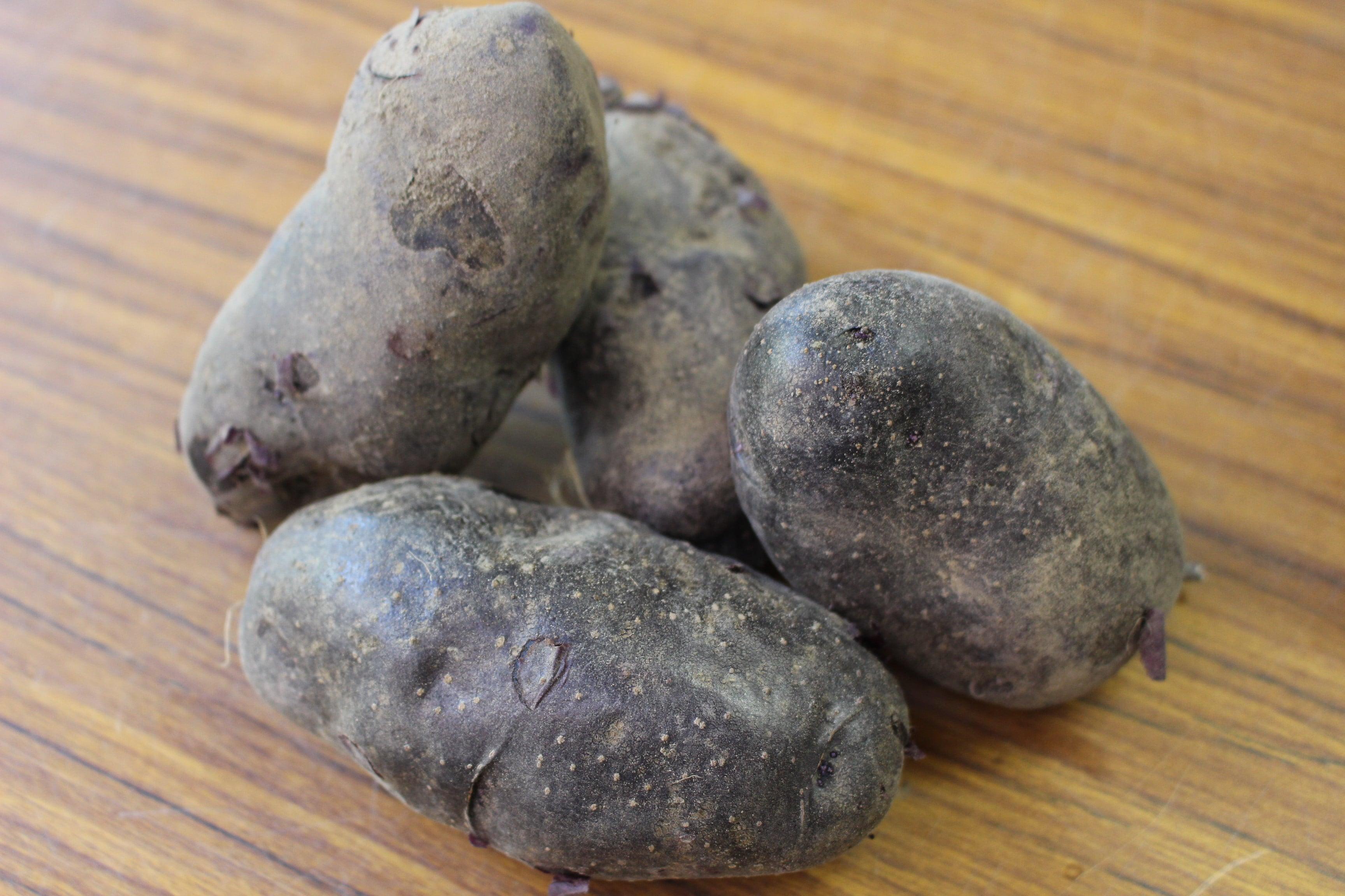 シャドークイーン(紫ジャガイモ)