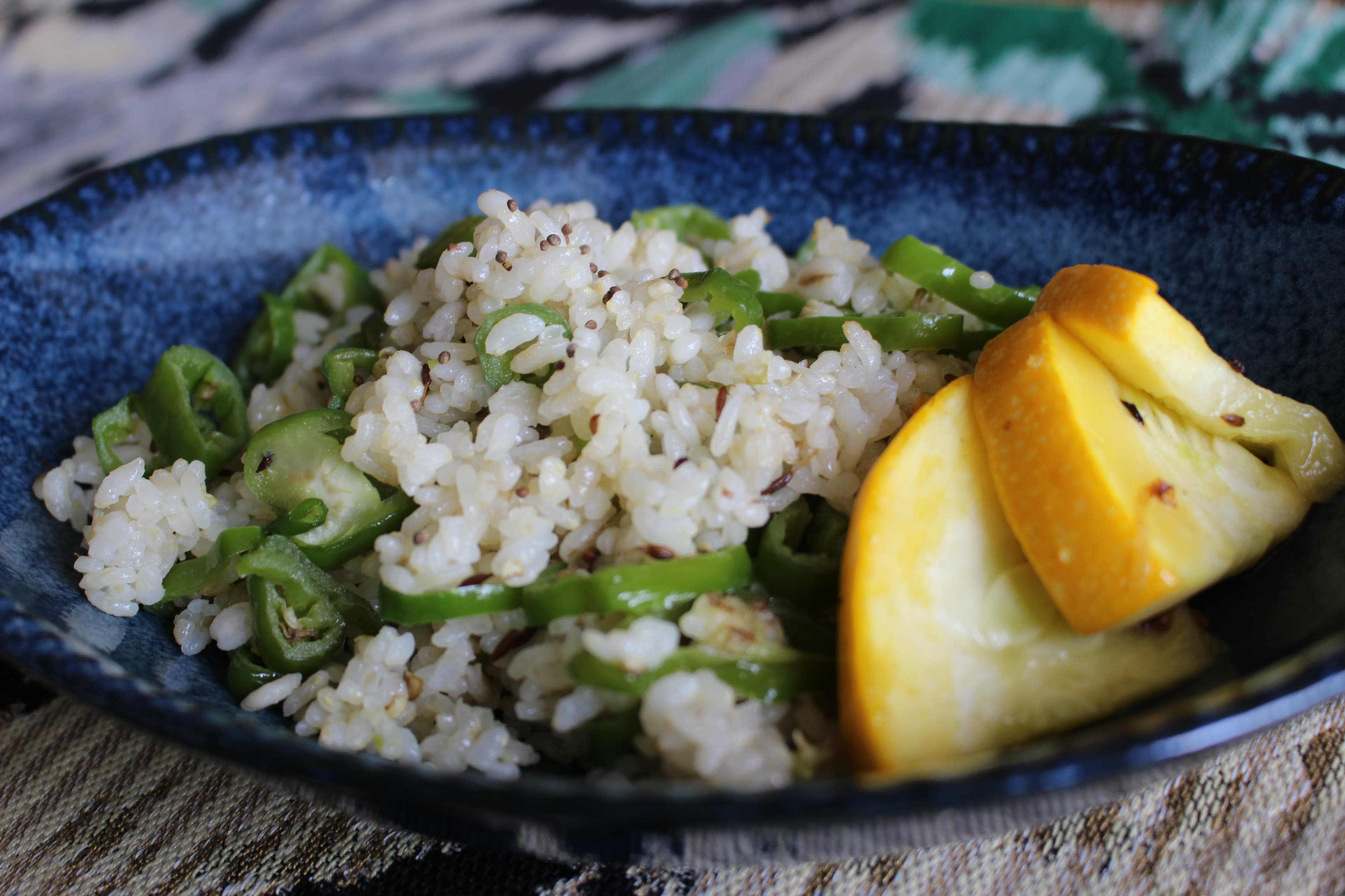 万願寺とうがらし炒飯