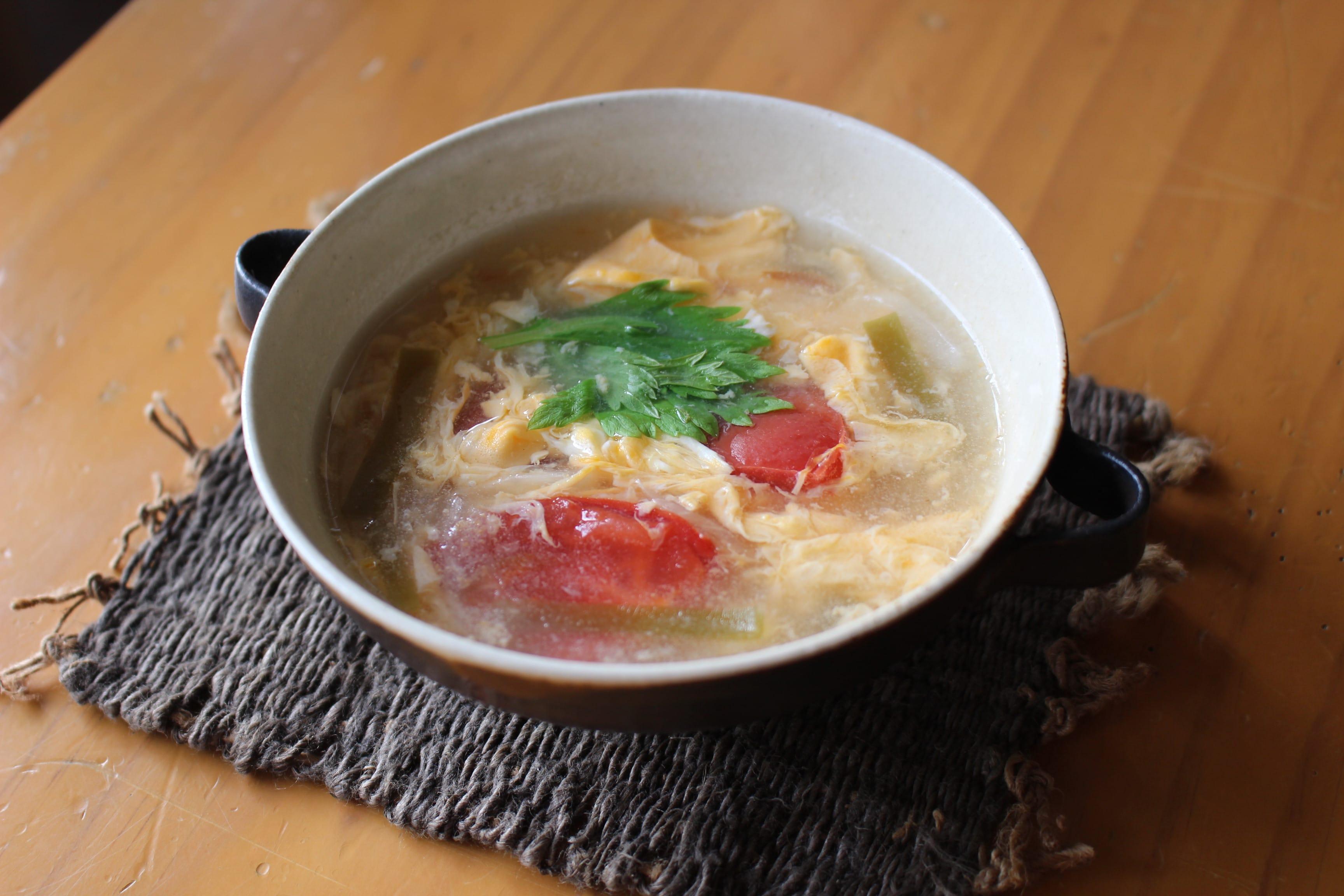 とろ~んトマトスープ